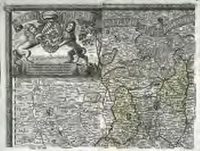 Sacri Romani imperii circuli et electoratus Bavariae tabula, 1