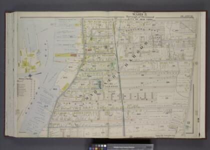 Part of Ward 3. [Map bound by Van Pelt Ave,           Washington (Old Place Road) Ave, John St, Martineau St, Richmond (Shore Road)    Terrace, Pier & Bulkhead line]