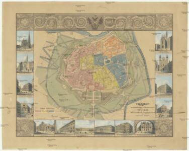 Grundriss der inneren Haupt- und Residenzstadt Wien