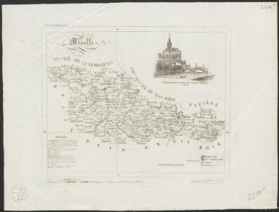 [Atlas départemental : La France et ses colonies] No. 56 Moselle