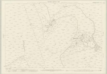 Devon CVII.13 (includes: Lydford; Walkhampton) - 25 Inch Map