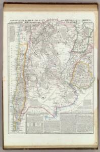 Provincie Unite del Rio de la Plata, Argentina, Chili, Uruguay, e Paraguay.