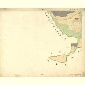 Tweras - c7609-1-003 - Kaiserpflichtexemplar der Landkarten des stabilen Katasters