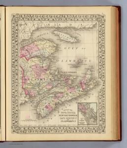 Nova Scotia, New Brunswick, Pr. Edward's Id.