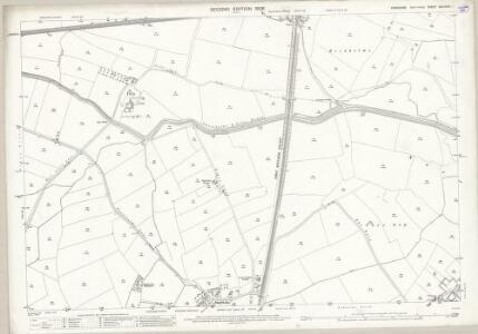 Yorkshire CCLXXVII.1 (includes: Bentley With Arksey; Owston; Thorpe In Balne) - 25 Inch Map