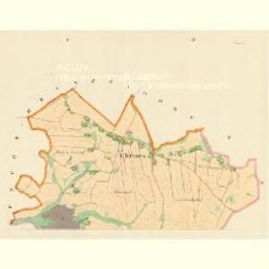Chrises (Krzizanow) - m1399-1-001 - Kaiserpflichtexemplar der Landkarten des stabilen Katasters