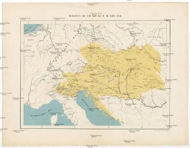 Oesterreich zur Zeit Karl des IV. im Jahre 1378
