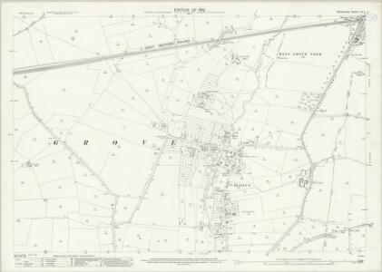 Berkshire XIV.6 (includes: Grove; West Hanney) - 25 Inch Map