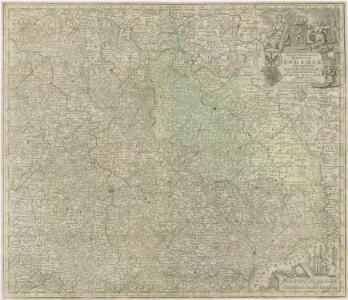 Mapa království českého