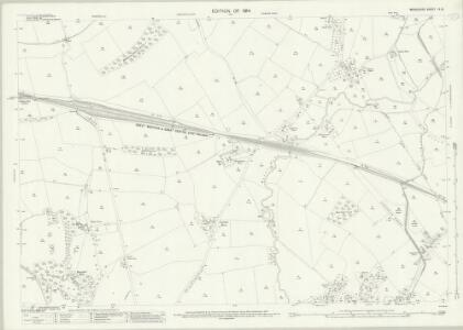 Middlesex IX.12 (includes: Ruislip; Uxbridge) - 25 Inch Map