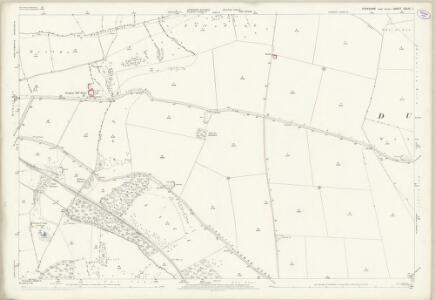 Yorkshire CXLIII.1 (includes: Birdsall; Kirby Grindalythe; Settrington; Wharram) - 25 Inch Map