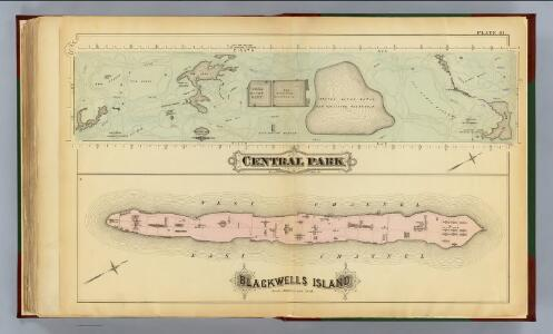 41. Central Park, Blackwells Island.