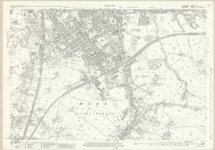 Lancashire CXII.3 (includes: Bredbury And Romiley; Denton; Hyde) - 25 Inch Map