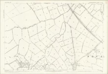Buckinghamshire XX.10 (includes: Drayton Parslow; Soulbury; Stoke Hammond) - 25 Inch Map