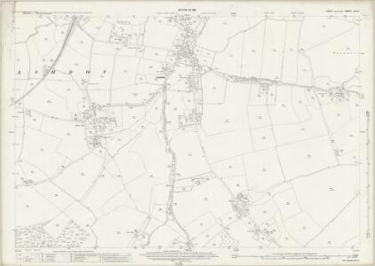 Essex (New Series 1913-) n VIII.6 (includes: Ashdon) - 25 Inch Map