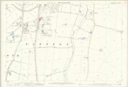 Huntingdonshire V.4 (includes: Fletton; Stanground South; Woodston) - 25 Inch Map