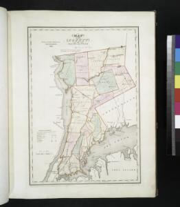 Map of the county of Westchester / by David H. Burr; engd. by Rawdon, Clark & Co., Albany, & Rawdon, Wright & Co., New York.; An atlas of the state of New York: containing a map of the state and of the several counties / by David H. Burr.