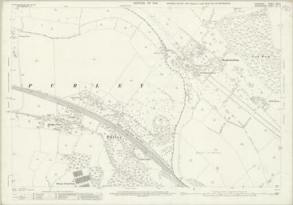 Berkshire XXIX.9 (includes: Mapledurham; Purley; Tilehurst) - 25 Inch Map
