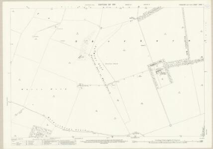 Yorkshire CXXVI.1 (includes: Luttons; Sherburn; Weaverthorpe) - 25 Inch Map