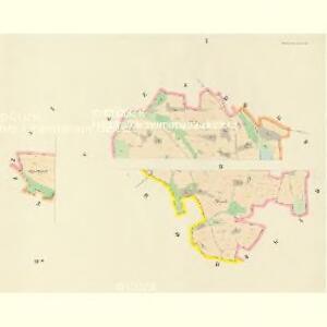 Holkowitz (Holkowice) - c1968-1-001 - Kaiserpflichtexemplar der Landkarten des stabilen Katasters