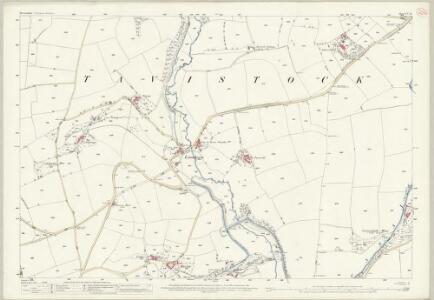 Devon CV.11 (includes: Tavistock Hamlets; Tavistock) - 25 Inch Map