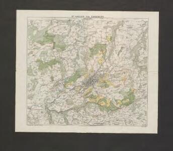 Wälder und Güter der Ortsgemeinde St. Gallen