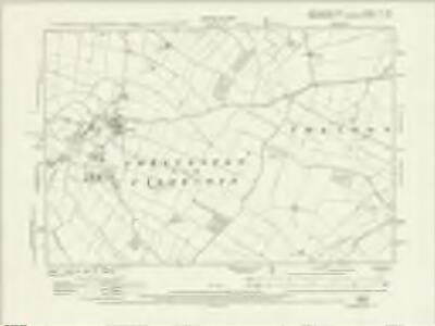 Northamptonshire XL.NE - OS Six-Inch Map