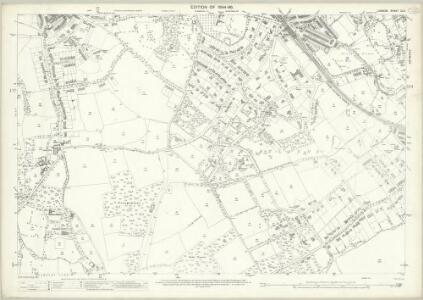 London (Edition of 1894-96) CLII (includes: Beckenham) - 25 Inch Map