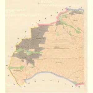 Wiedowitz - c8639-1-001 - Kaiserpflichtexemplar der Landkarten des stabilen Katasters
