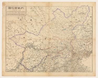 内蒙古地圖