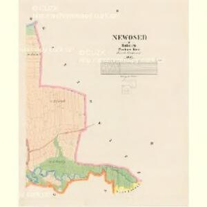 Newosed - c5303-1-002 - Kaiserpflichtexemplar der Landkarten des stabilen Katasters