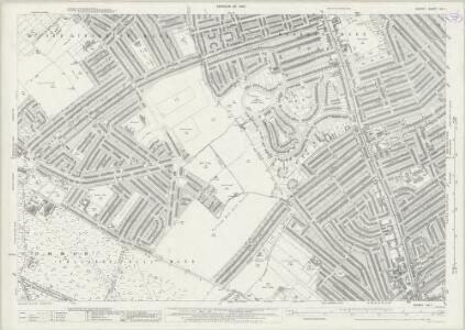 Surrey XIV.1 (includes: Croydon St John The Baptist; Mitcham) - 25 Inch Map