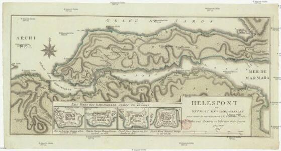 Helespont ou Detroit des Dardanelles