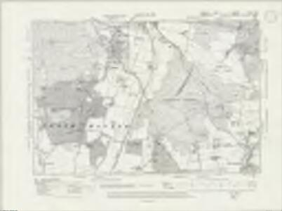 Sussex XLVII.SW - OS Six-Inch Map