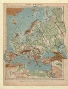 Europa. Bodengestalt