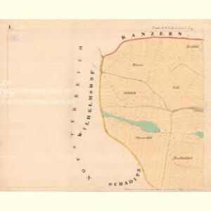 Tiefenbach - m0718-1-001 - Kaiserpflichtexemplar der Landkarten des stabilen Katasters