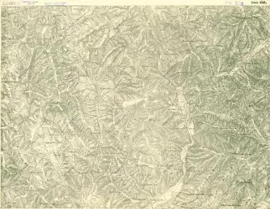III. vojenské mapování 4368/4