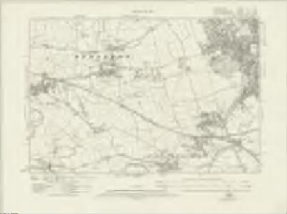 Derbyshire LVI.NW - OS Six-Inch Map