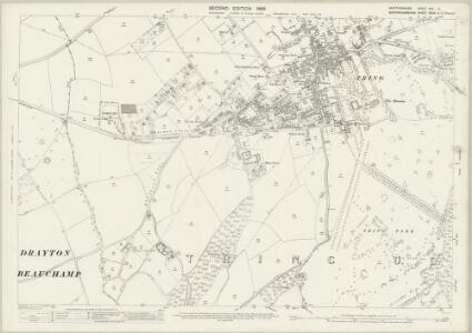 Hertfordshire XXV.14 (includes: Drayton Beauchamp; Tring Urban) - 25 Inch Map