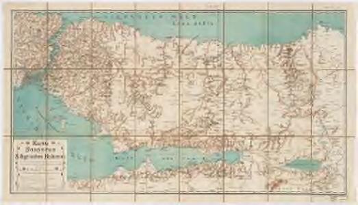 Karte des Bosporus und der Bithynischen Halbinsel