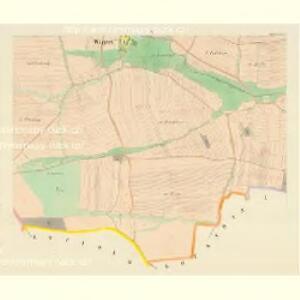 Wegrow - c8930-1-004 - Kaiserpflichtexemplar der Landkarten des stabilen Katasters