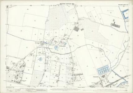 Middlesex XXV.1 (includes: Feltham; Hanworth; Sunbury) - 25 Inch Map
