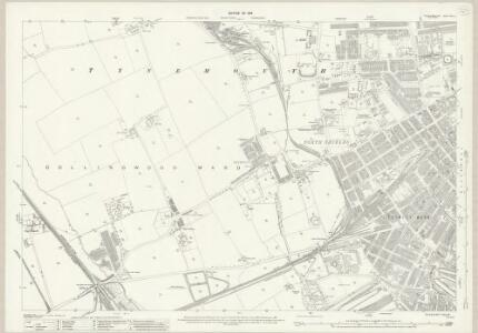 Northumberland (New Series) XCV.4 (includes: Tynemouth) - 25 Inch Map