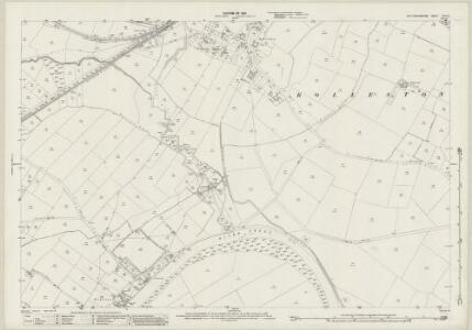 Nottinghamshire XXXV.5 (includes: East Stoke; Fiskerton Cum Morton; Rolleston) - 25 Inch Map