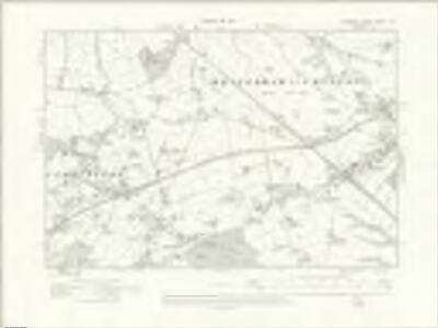Cheshire XXXIII.SE - OS Six-Inch Map