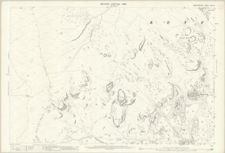 Westmorland XXVII.5 (includes: Kentmere; Windermere) - 25 Inch Map