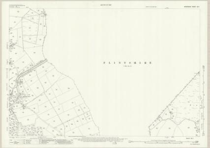 Shropshire XIV.1 (includes: Bettisfield; Ellesmere Rural; Welshampton; Wem Rural) - 25 Inch Map