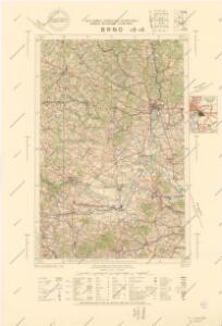 Normální mezinárodní letecká mapa.