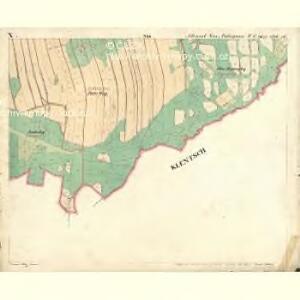 Alt u. Neu Possigkau - c6041-1-010 - Kaiserpflichtexemplar der Landkarten des stabilen Katasters