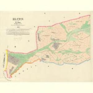 Hlupin - c1899-1-002 - Kaiserpflichtexemplar der Landkarten des stabilen Katasters